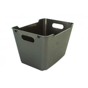 Plastový box LOFT 6 l, grafit, 29,5x19x15 cm - POSLEDNÍCH 20 KS
