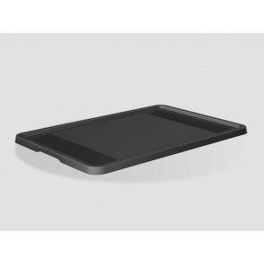 Plastové víko Eurobox 60x40 cm, grafit