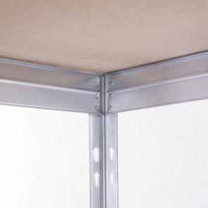 Kovový regál Corner, 5 polic,180x90x45 cm - 300 kg