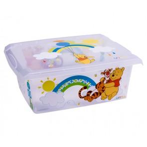 "Plastový box Fashion, ""Medvídek Pú"", 39x29x14cm"