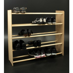 Regál na boty Soft, 81x90,5x24 cm