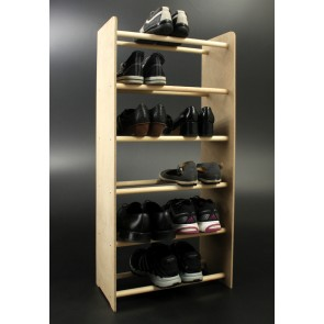 Regál na boty Soft, 99x90,5x24 cm