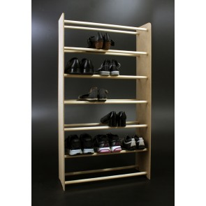 Regál na boty Soft, 117x46x24 cm