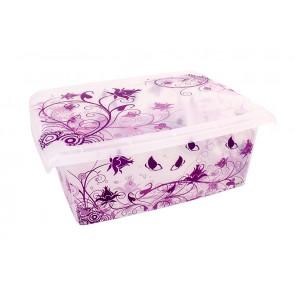 """Plastový box Fashion, """"Romance"""", 39x29x14cm - POSLEDNÍCH 7 KS"""