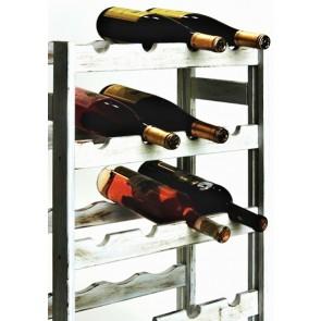 Regál na víno Rifor, na 20 lahví, Provance - bílý, 70x44x25 cm