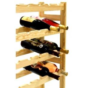 Regál na víno Rendal, na 30 lahví, Natur, 86x53x25 cm