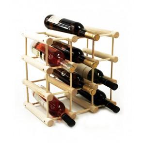 Stojan na víno Stavebnice, na 9 lahví