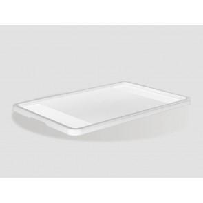 Plastové víko Eurobox 40x30 cm, průhledné