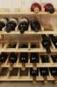Stojan pro uskladnění vína, na 63 lahví, natur