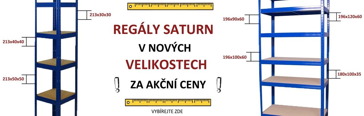 Kovové regály Saturn