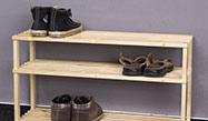 Dřevěné botníky