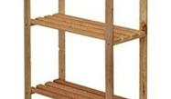 Dřevěné regály