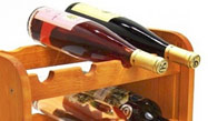 Střední regál na víno